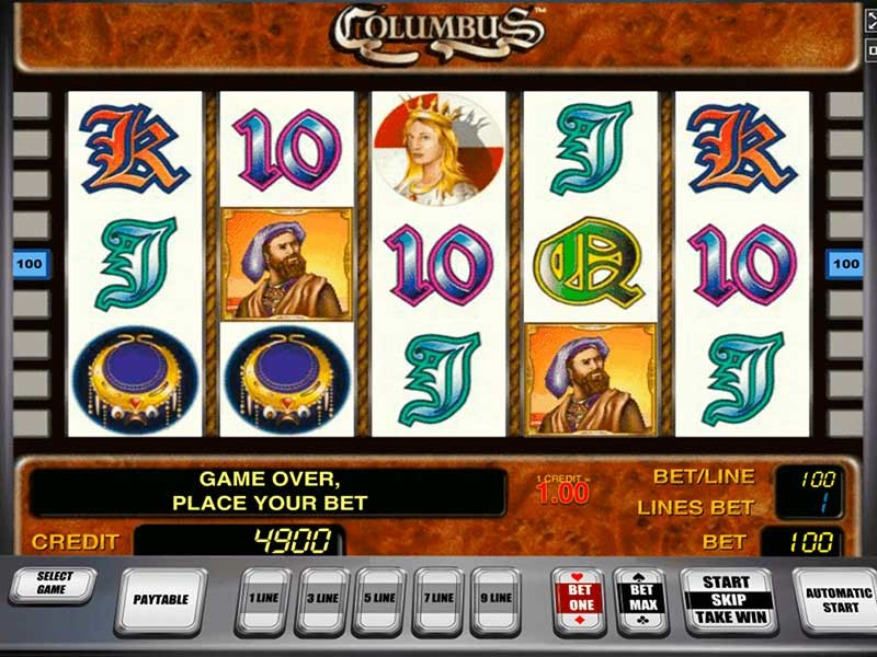 Columbus Slot Free Play