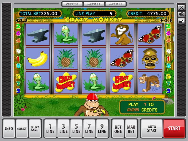Crazy Monkey Slot Machine